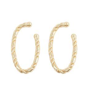 Brinco-Ear-Hook-Encaixe-Oval-Torcido-Dourado-Folheado-01