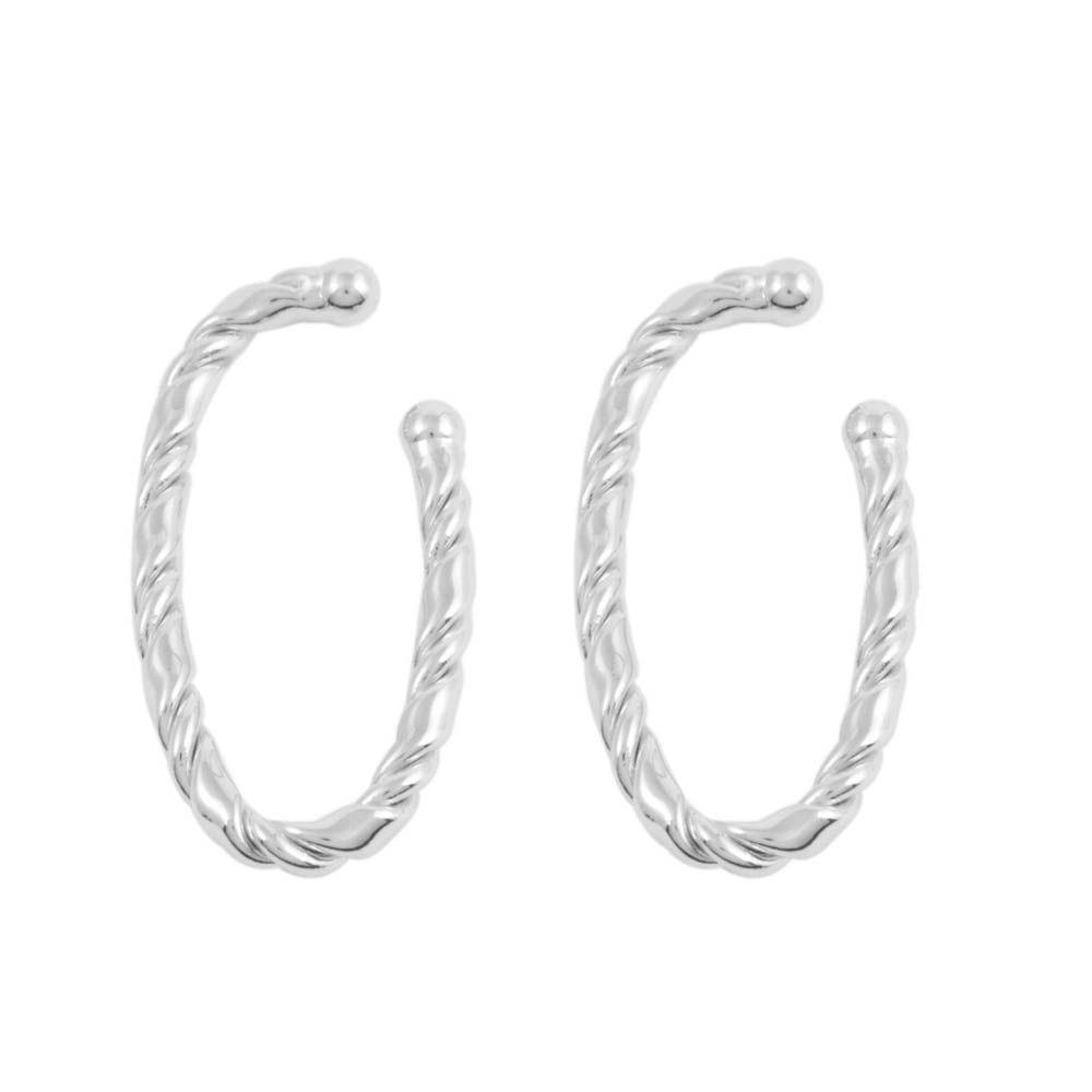 Brinco-Ear-Hook-Encaixe-Oval-Torcido-Prateado-Folheado-01
