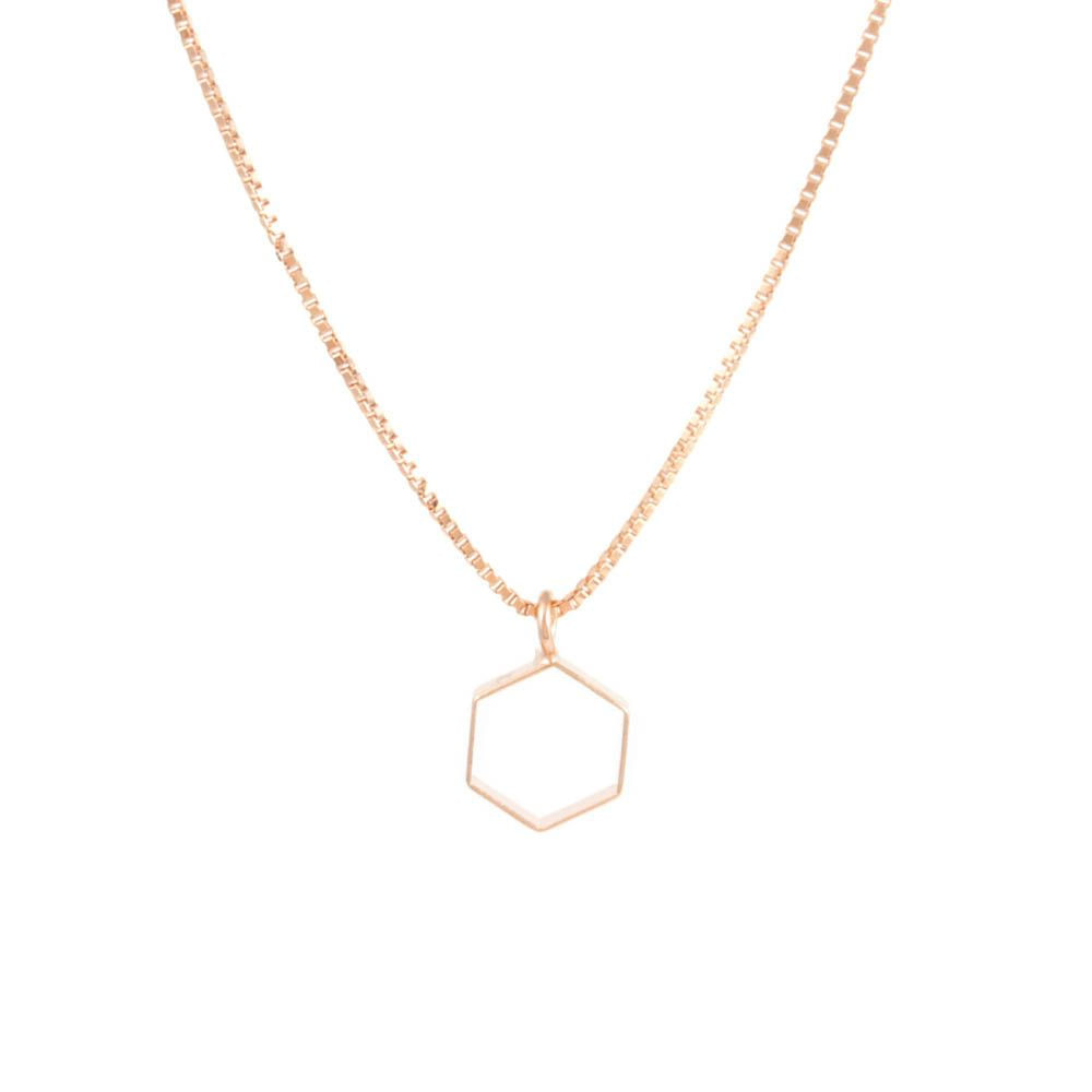 Colar-Hexagono-Vazado-Fino-Rose-Folheado-01