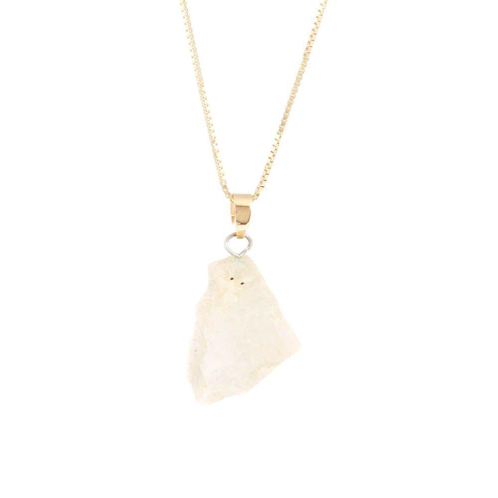 Colar-Pedra-da-Lua-Bruta-Pequena-Curto-Dourado-Folheado-01