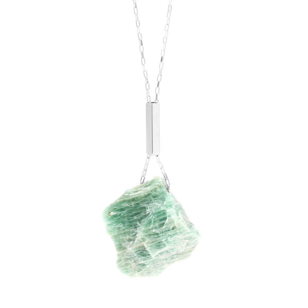Colar-Pedra-Bruta-Amazonita-Grande-Prateado-Folheado-01