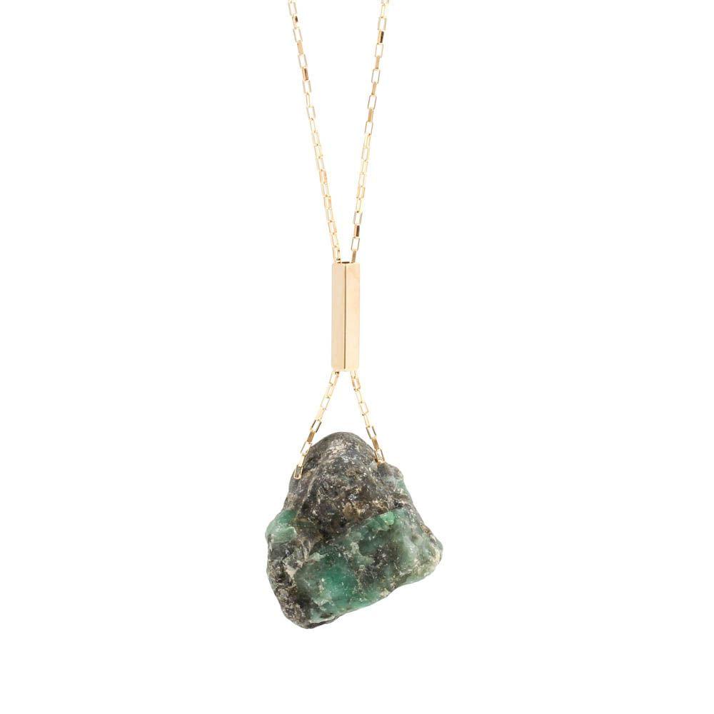 Colar-Pedra-Bruta-Esmeralda-Grande-Dourado-Folheado-01
