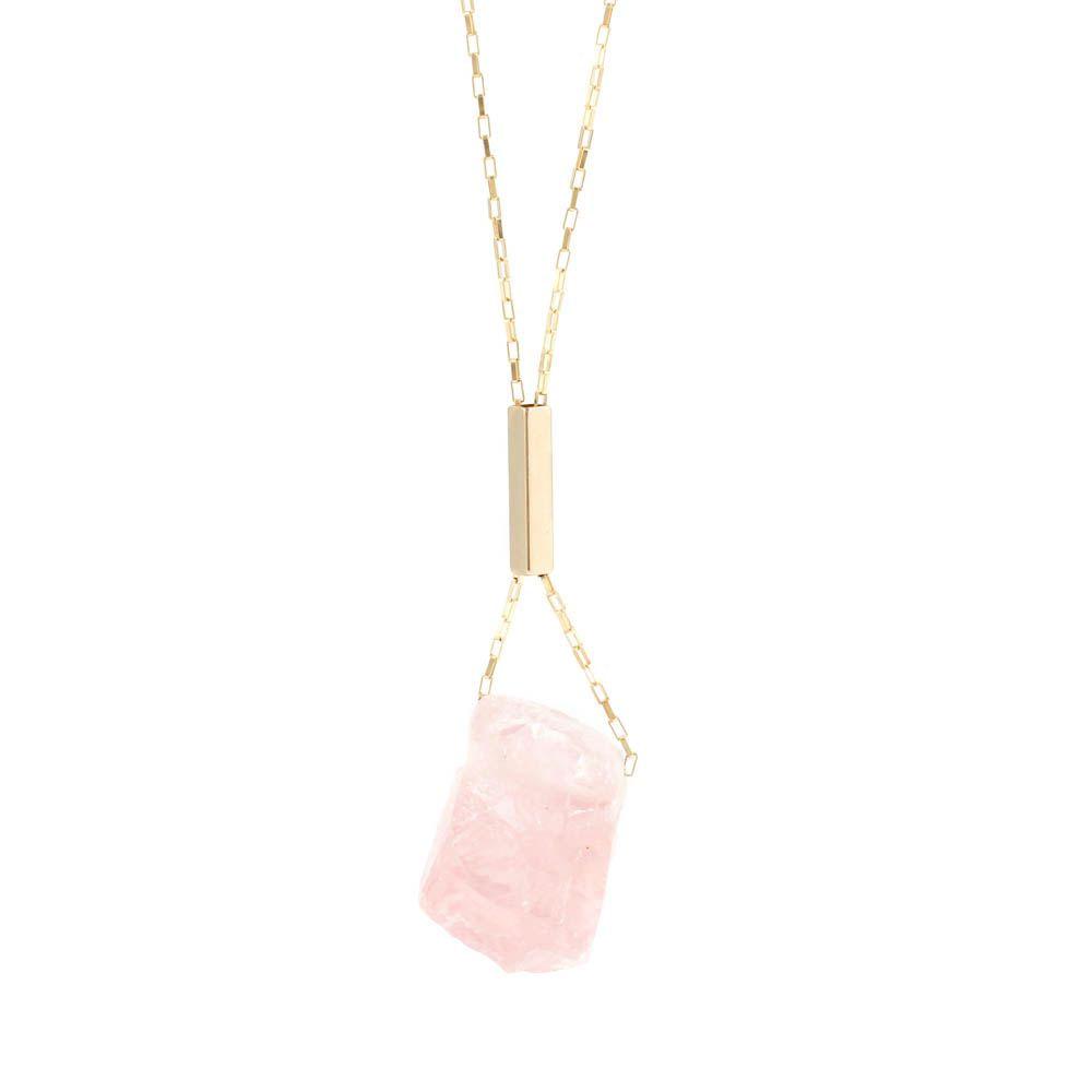 Colar-Pedra-Bruta-Quartzo-Rosa-Grande-Dourado-Folheado-01