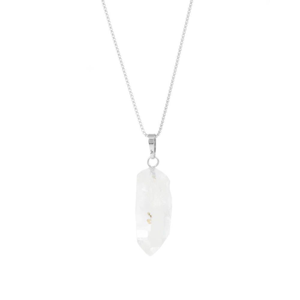 Colar-Ponta-Pedra-Bruta-Quartzo-Transparente-Pequeno-Prateado-Folheado-01