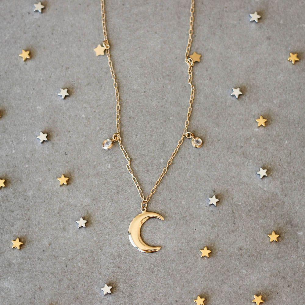 Colar-Lua-Estrelas-Pontos-de-Luz-Dourado-Folheado-01