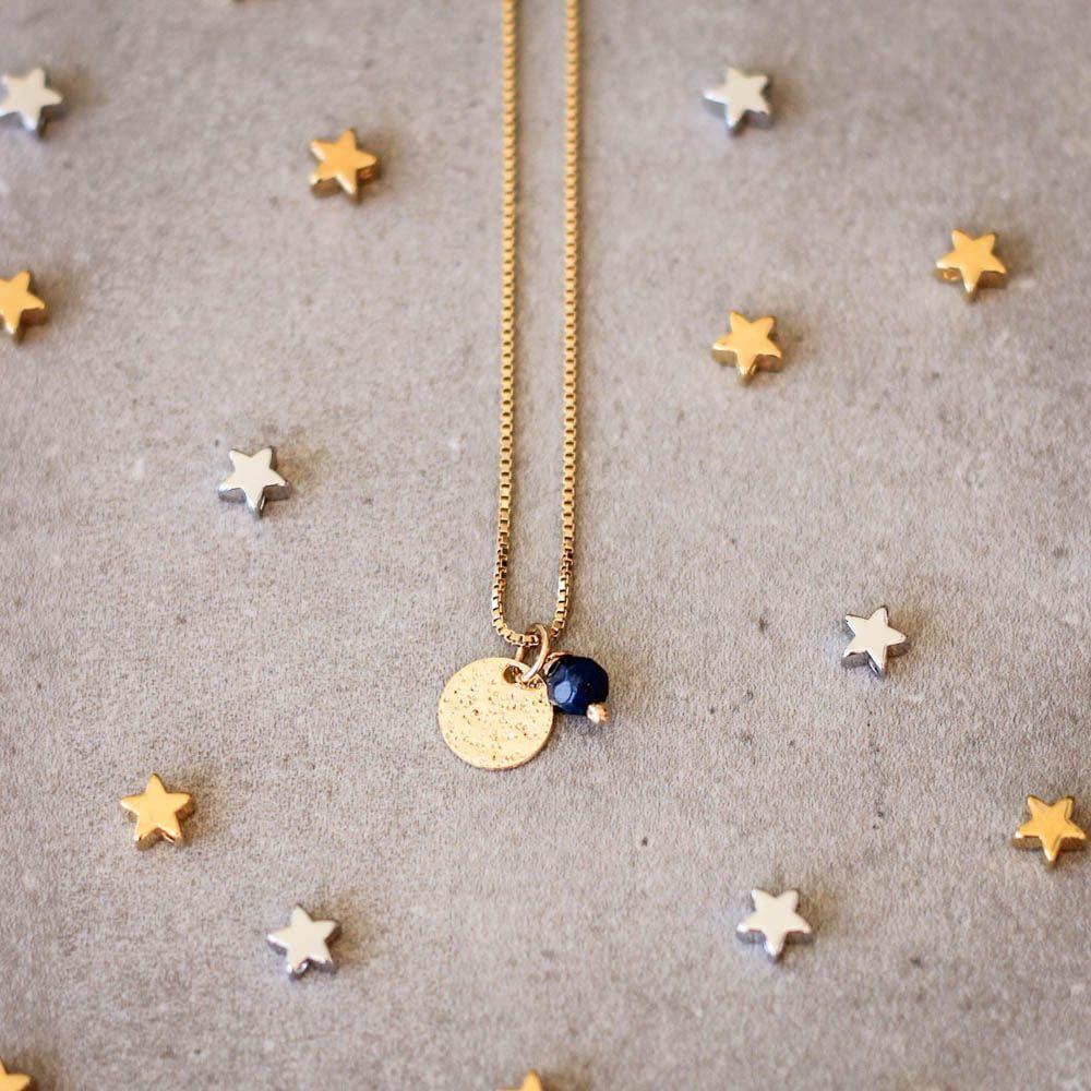 Colar-Medalha-Constelacao-Pedra-Jade-Azul-Dourado-Folheado-01